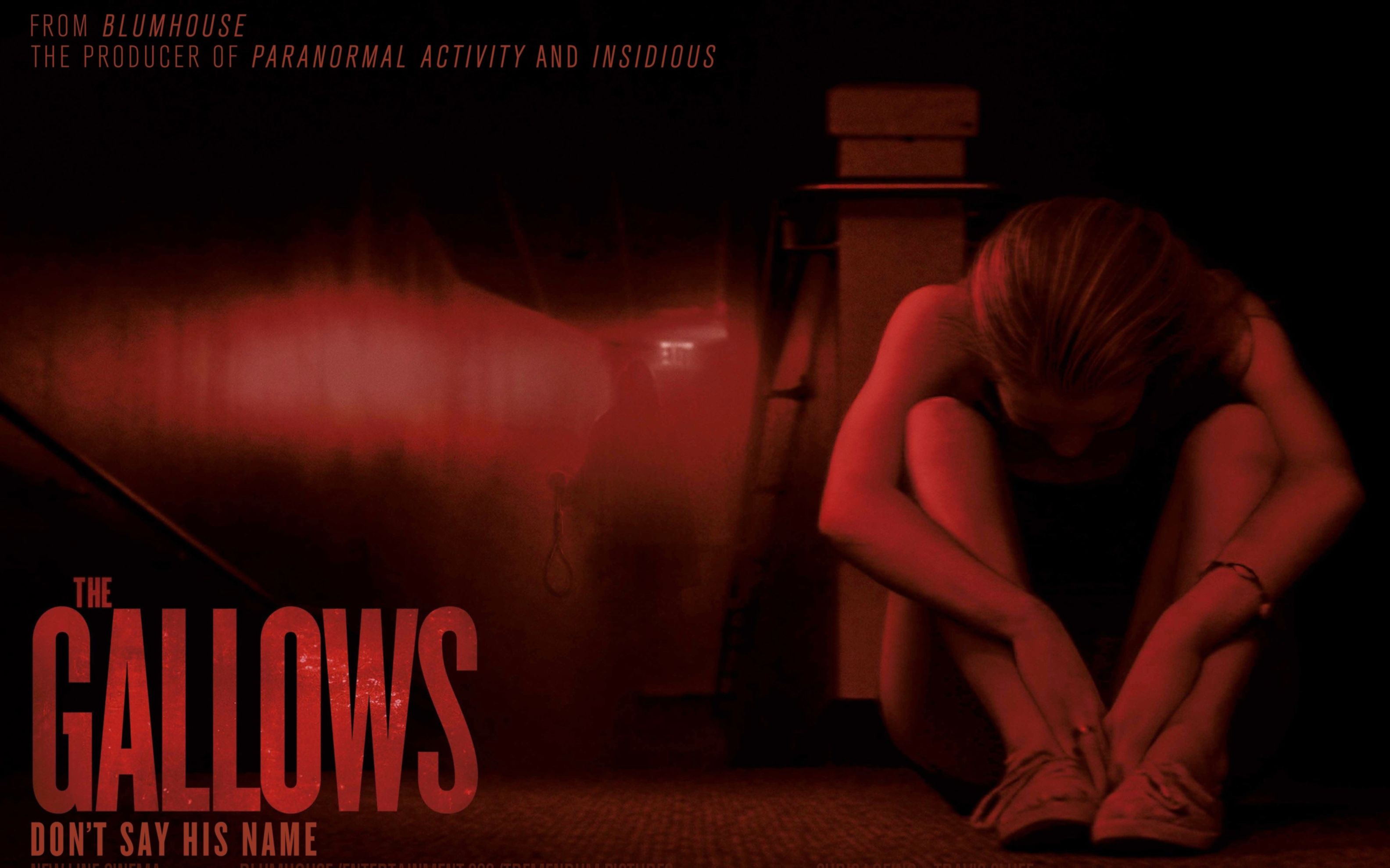 Download free HD The Gallows Horror Movie Wide Wallpaper, image