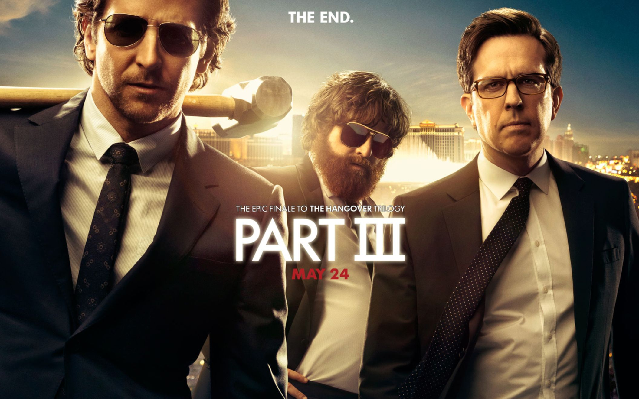 Download free HD The Hangover Part 3 Movie Wide Wallpaper, image