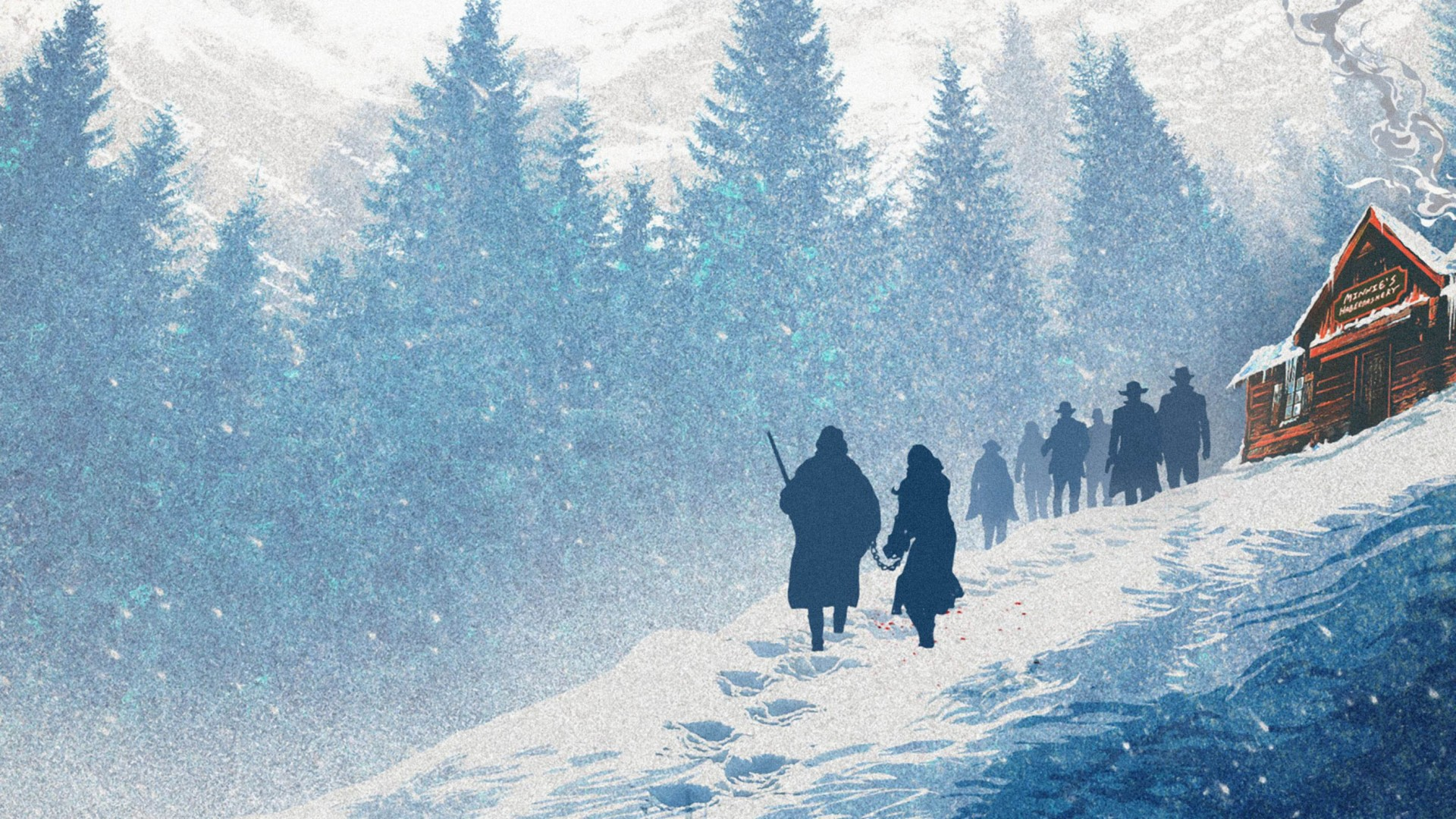 The Hateful Eight HD Wallpaper