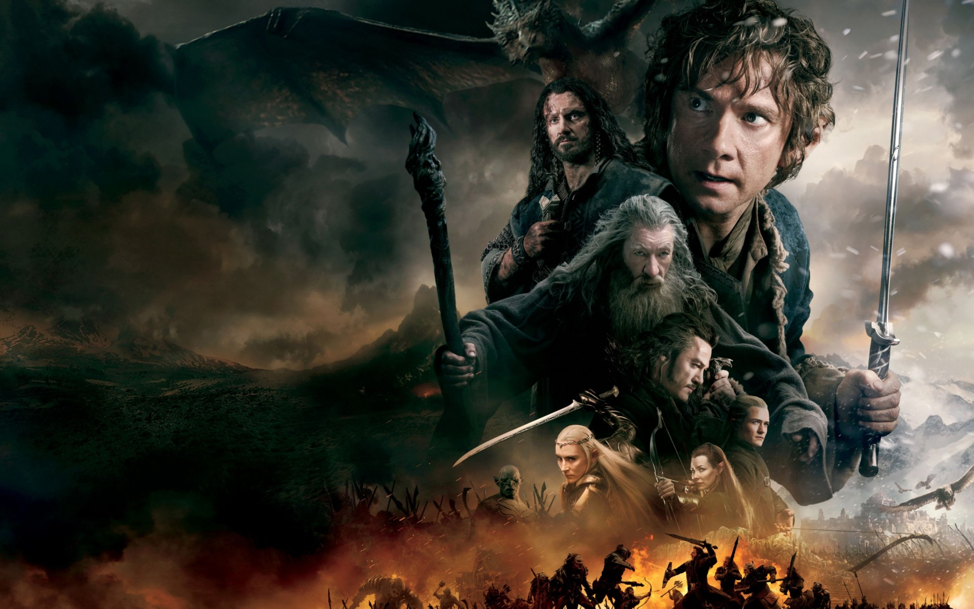 The Hobbit The Battle of The Five Armies 2014 Wide Wallpaper