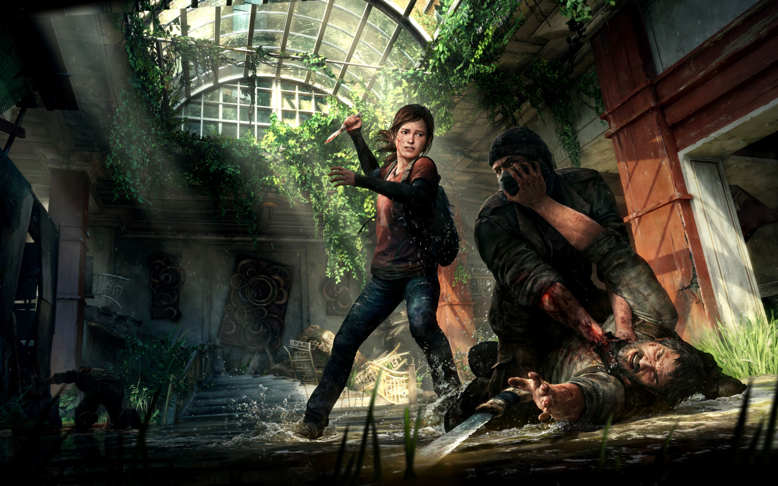 Download free HD The Last of Us Ps3 Game Wide Wallpaper, image