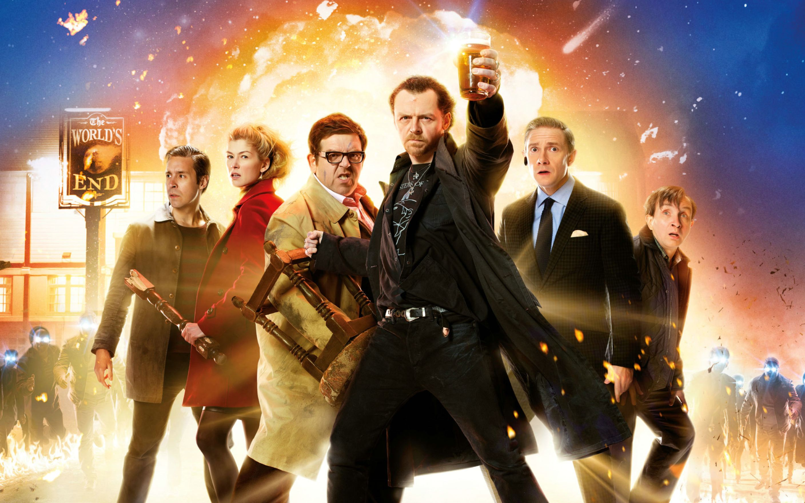 Download free HD The Worlds End Movie Wide Wallpaper, image