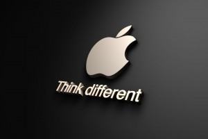 Think Different Apple Wide Wallpaper
