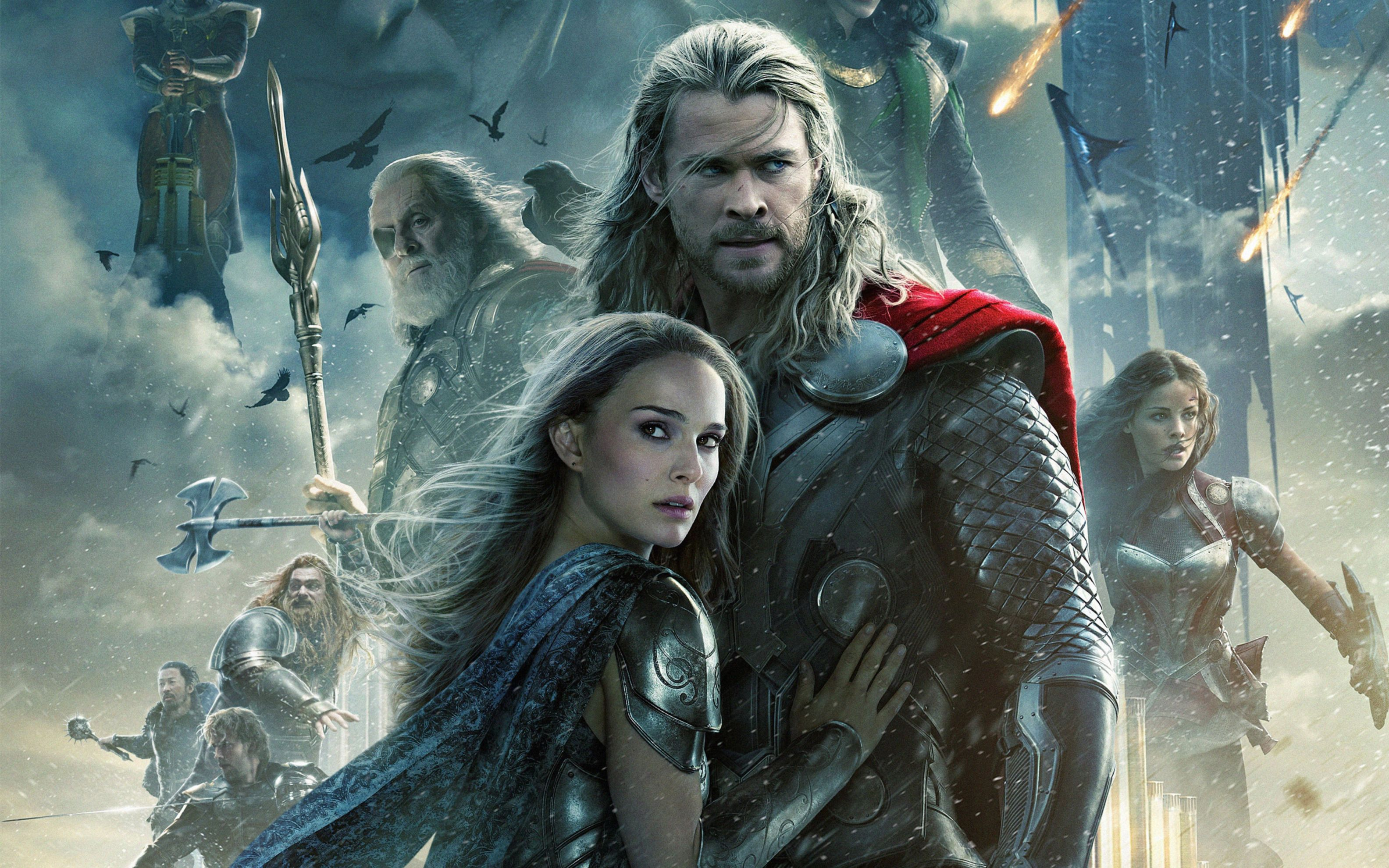 Download free HD Thor 2 The Dark World 2013 Wide Wallpaper, image