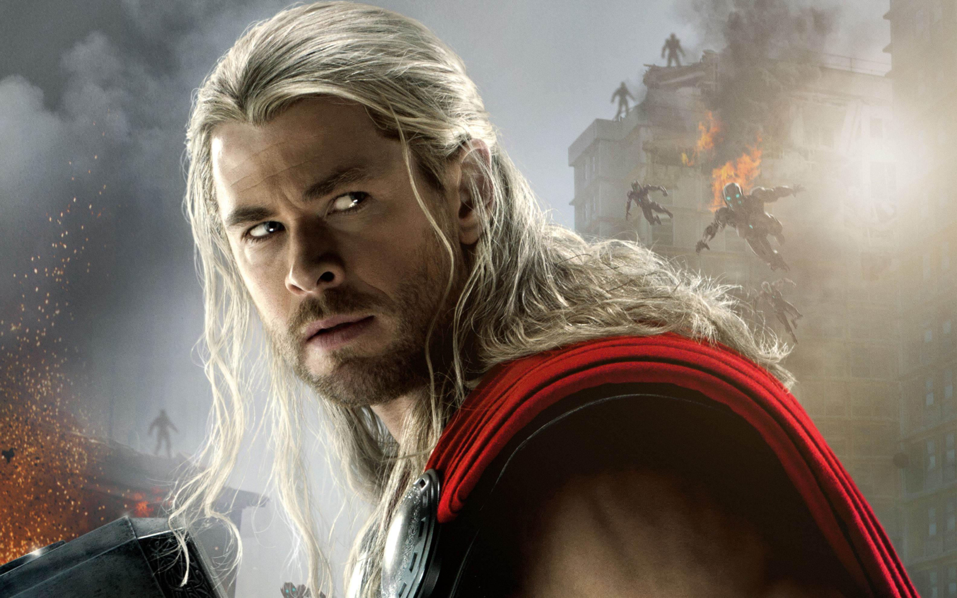 Download free HD Thor Avengers Age of Ultron Wide Wallpaper, image