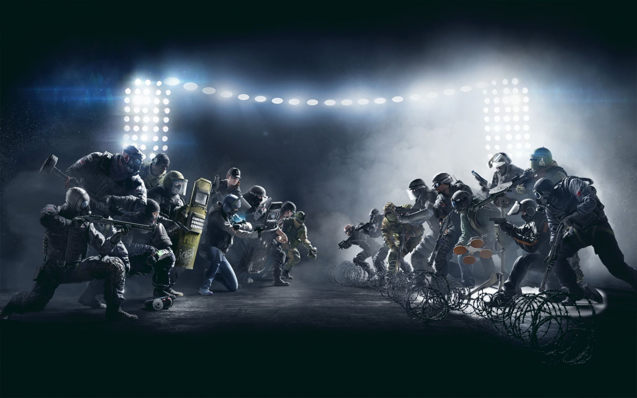 Download free HD Tom Clancys Rainbow Six Siege Game Wide Wallpaper, image