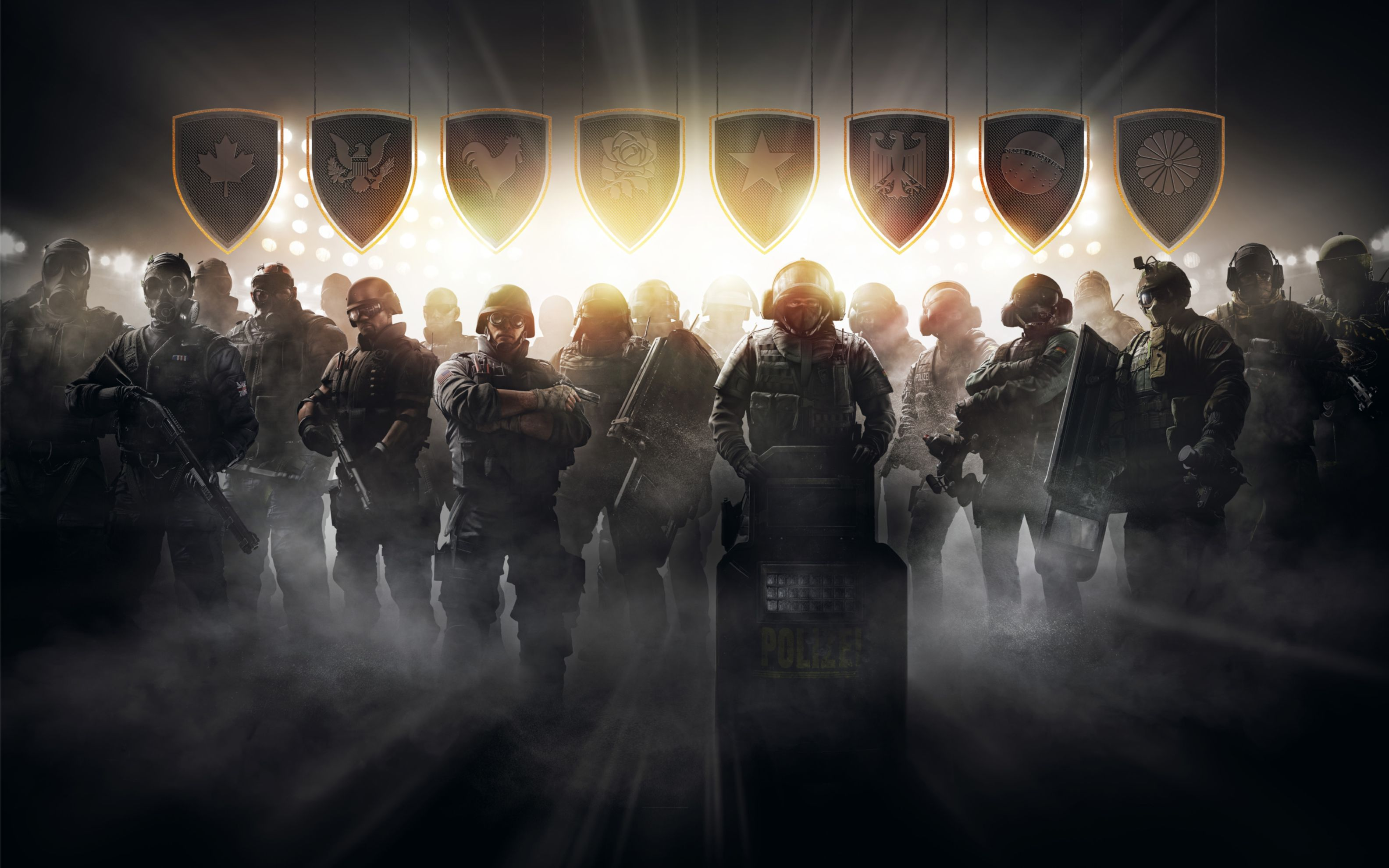 Download free HD Tom Clancys Rainbow Six Siege Pro League Wide Wallpaper, image