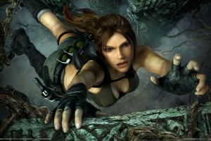 Tomb Raider Underworld Wide Wallpaper