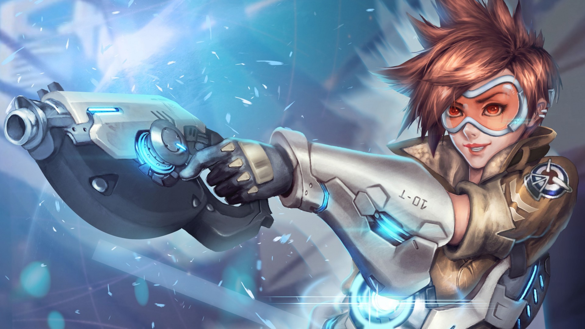 Tracer Overwatch HD Wallpaper