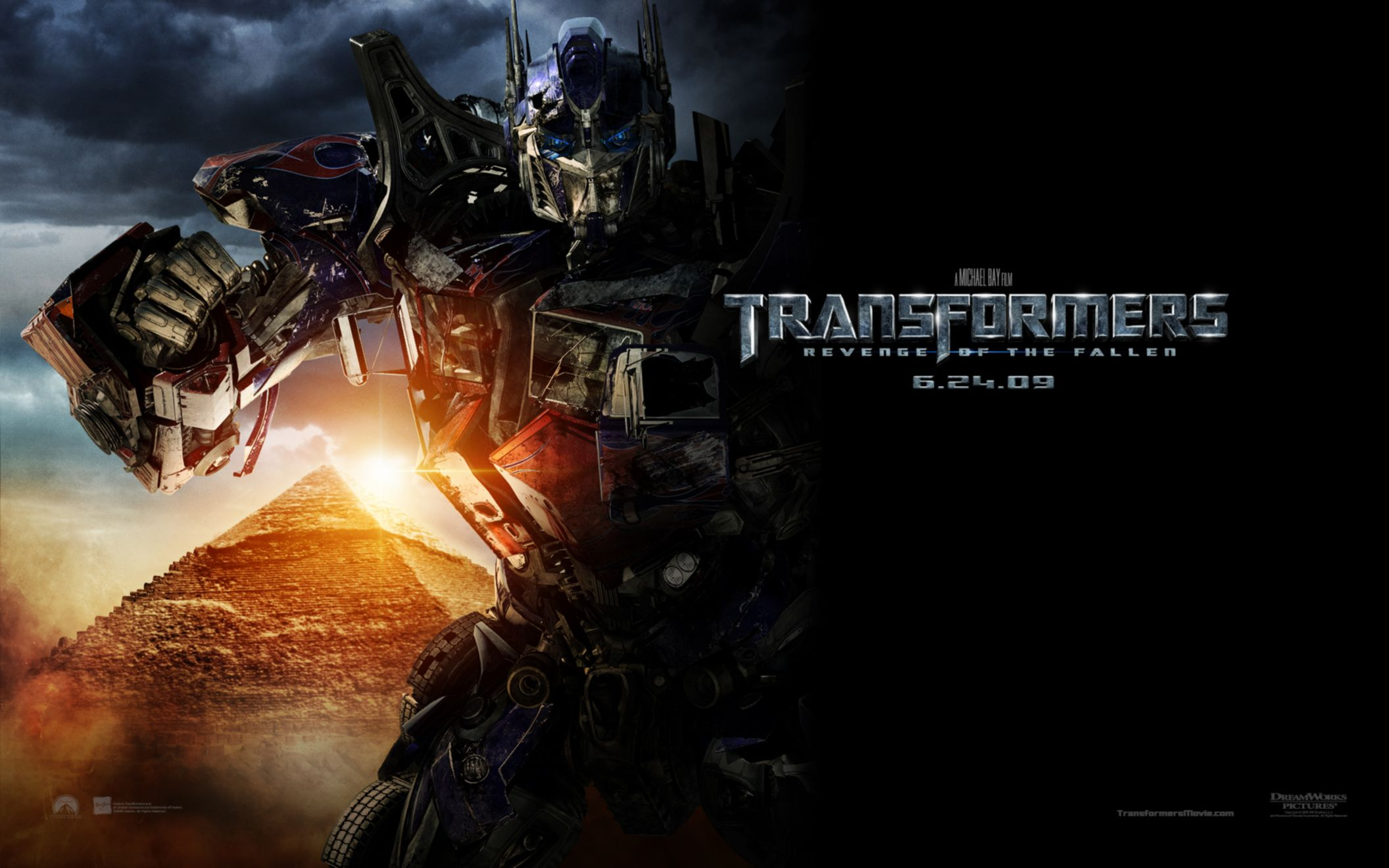 Download free HD Transformers 2 Revenge of The Fallen Wide Wallpaper, image