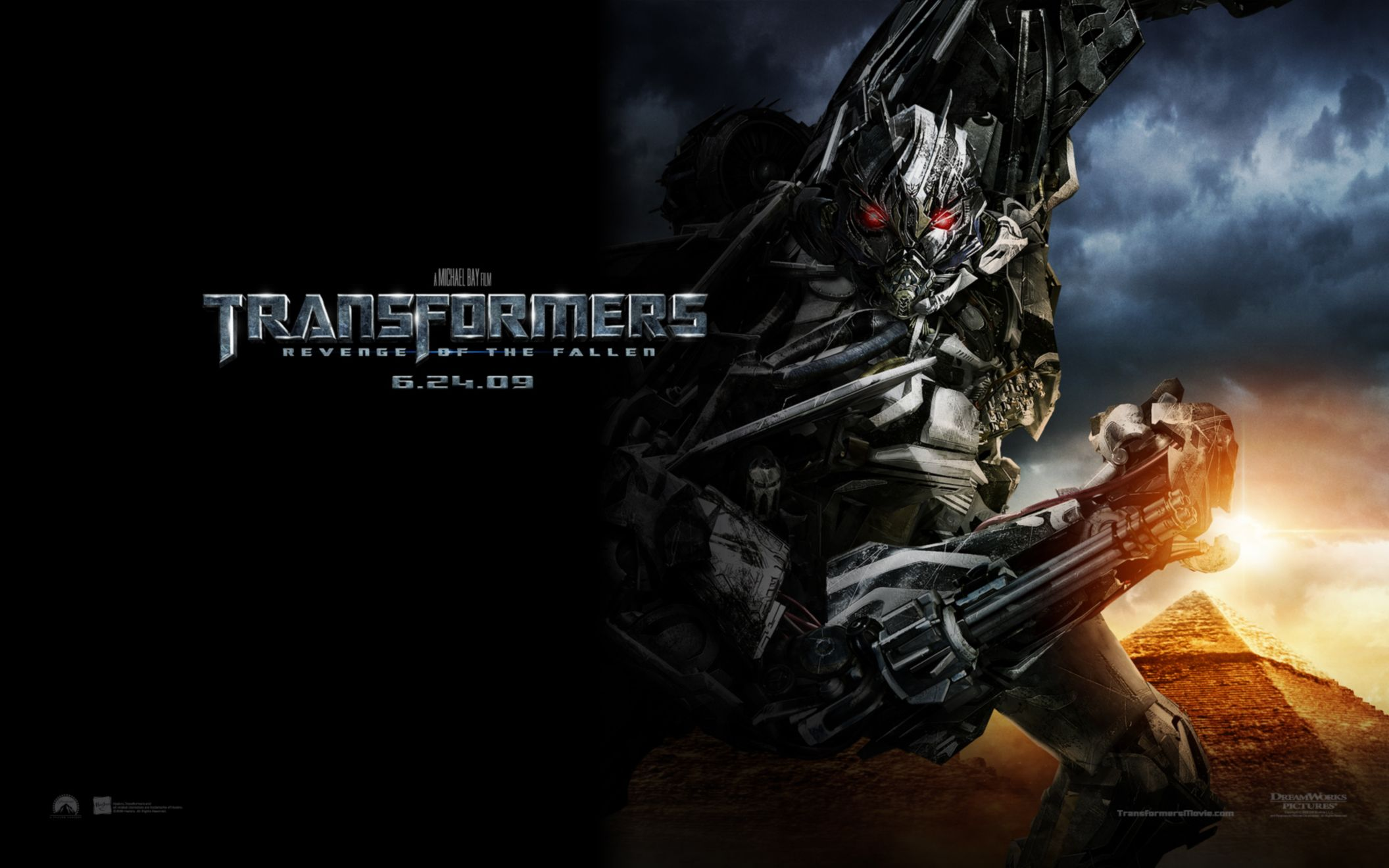Download free HD Transformers 2 Widescreen Wide Wallpaper, image