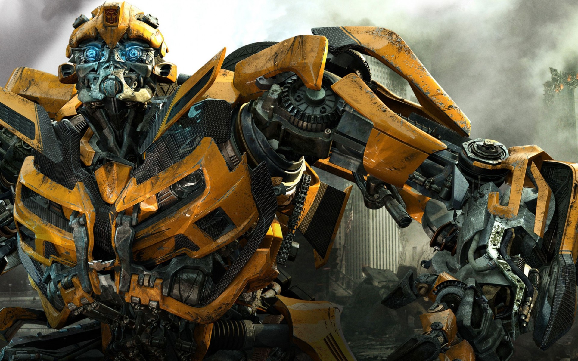 Transformers 3 Bumblebee Wide Wallpaper