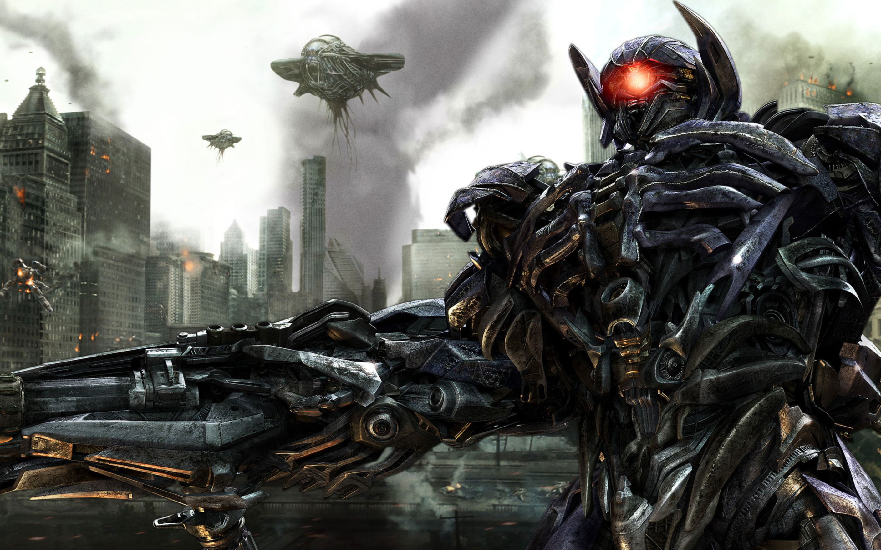Download free HD Transformers 3 Shockwave Wide Wallpaper, image