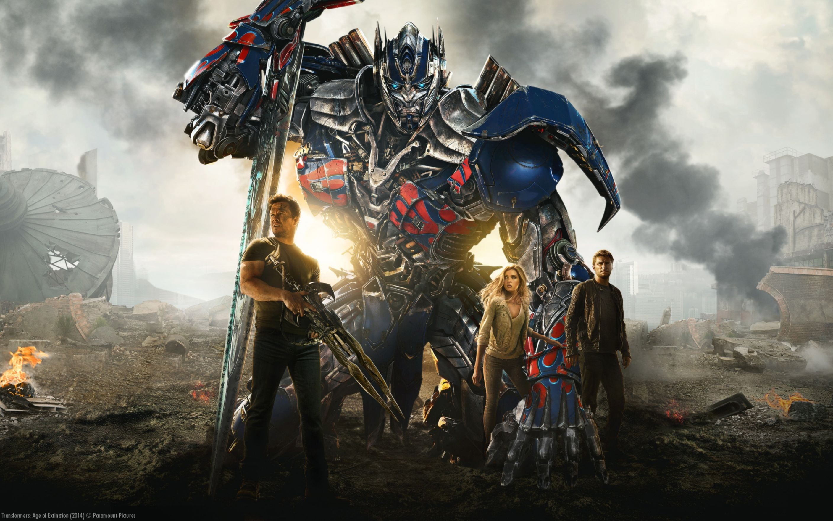 Download free HD Transformers 4 Age of Extinction Wide Wallpaper, image
