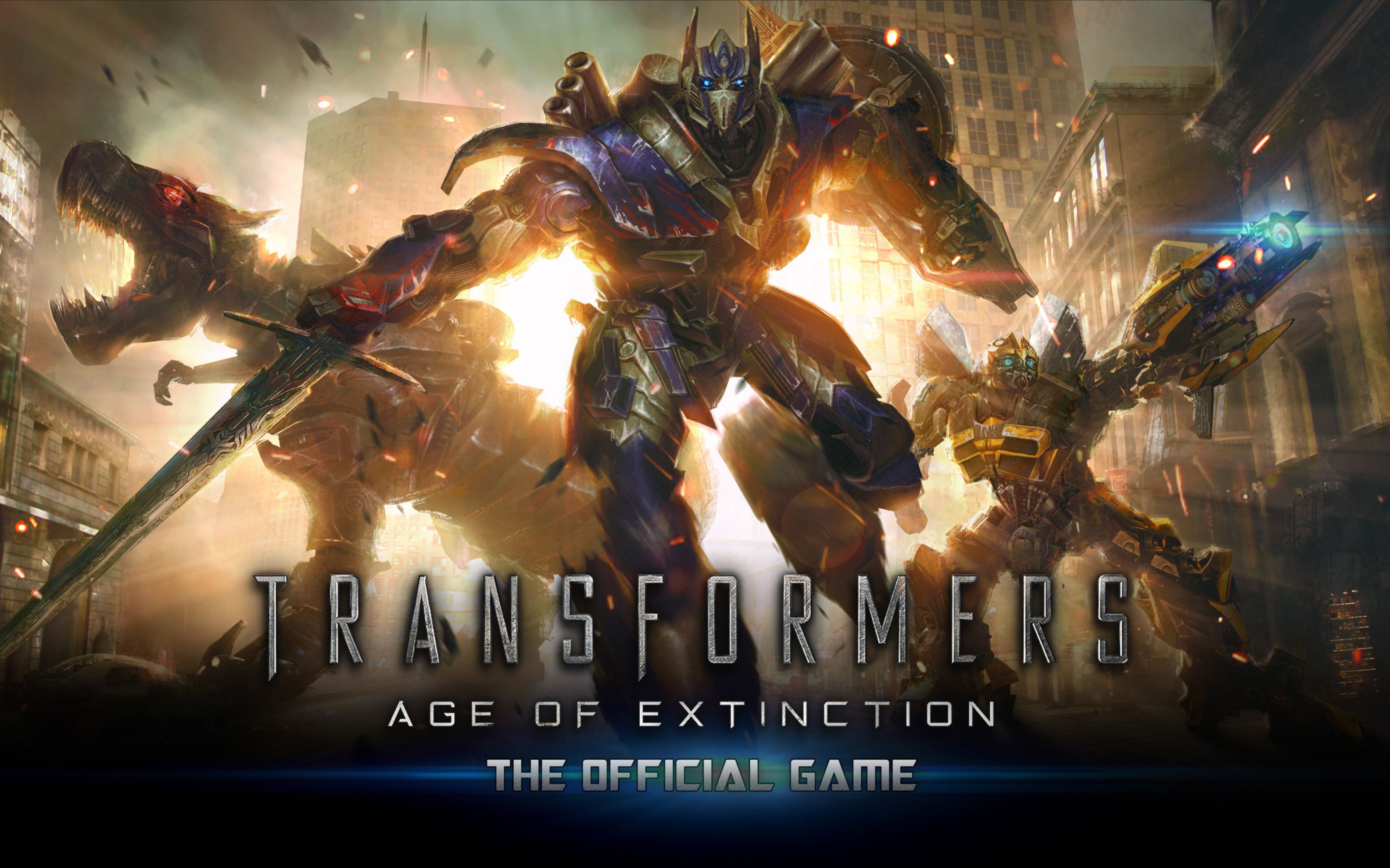 Download free HD Transformers Age of Extinction Game Wide Wallpaper, image