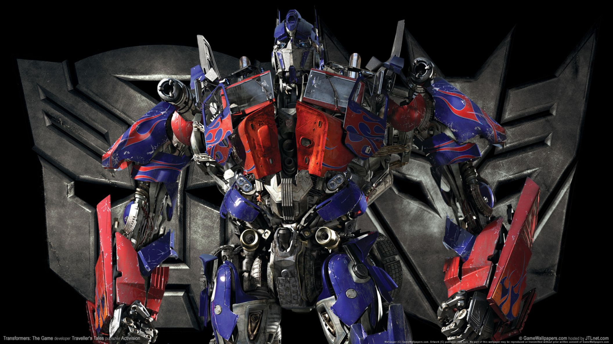 Download free HD Transformers Optimus Prime Game HD Wallpaper, image