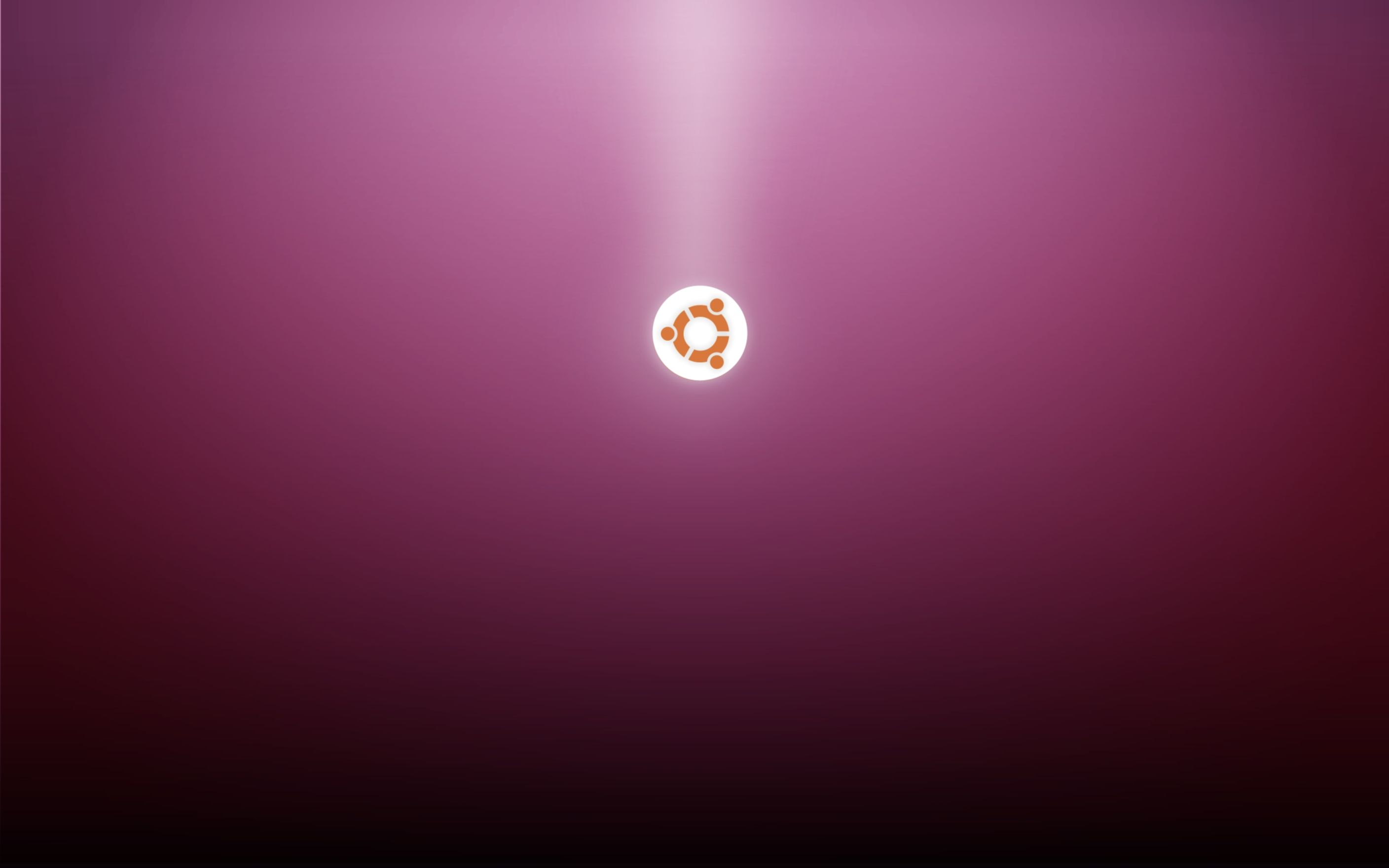 Download free HD Ubuntu Logo Purple Wallpaper, image
