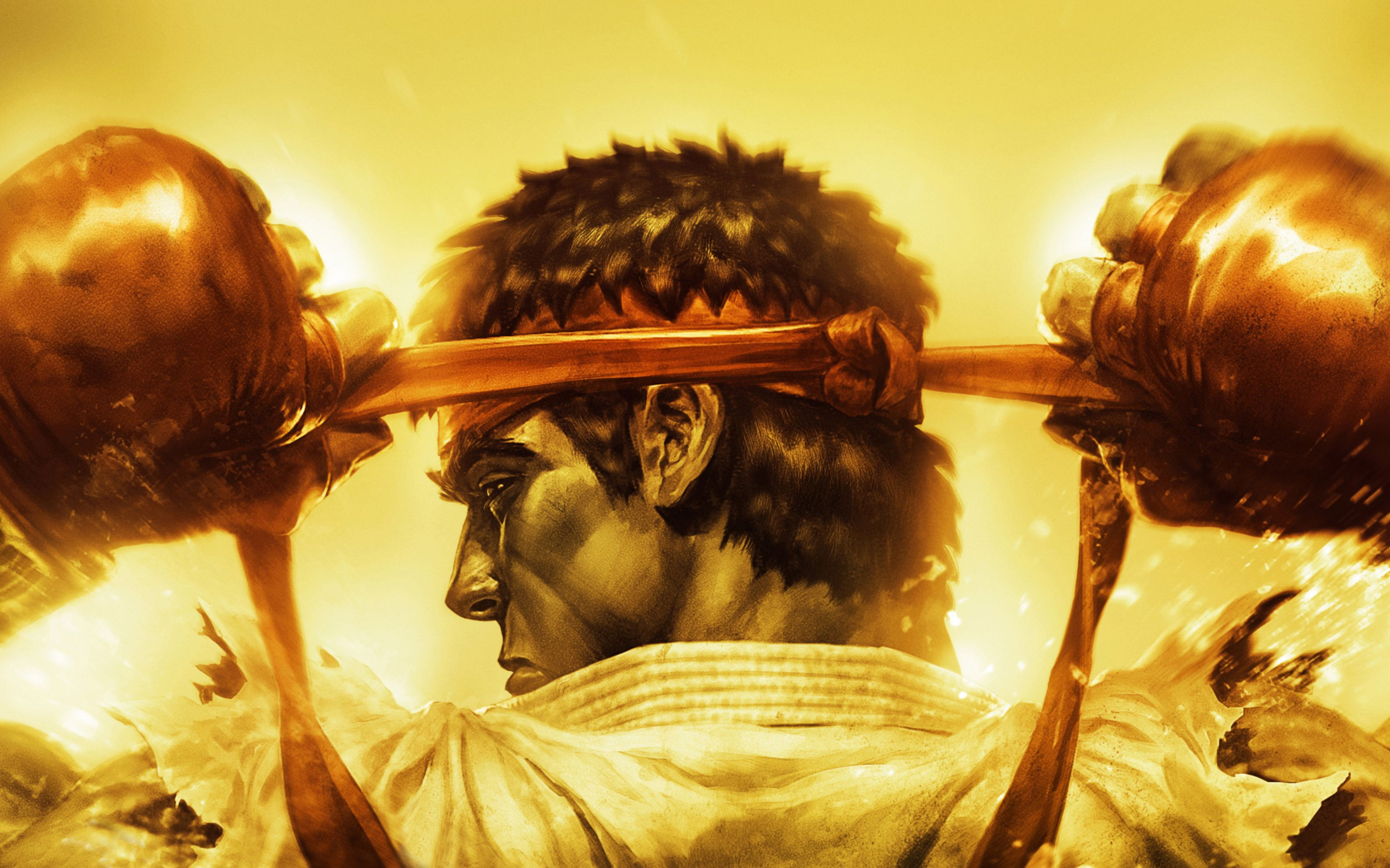 Download free HD Ultra Street Fighter 4 Ryu Wide Wallpaper, image