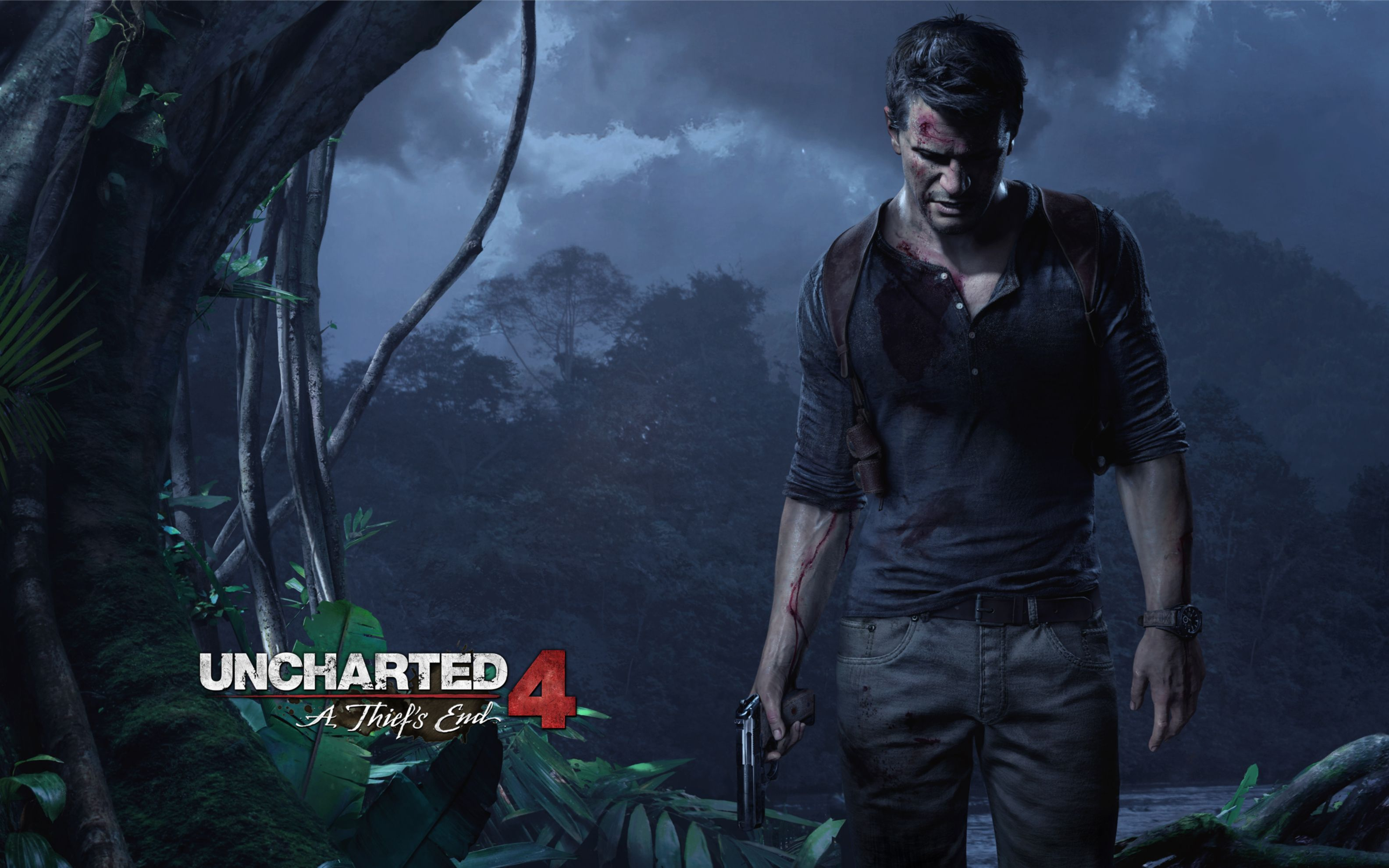 Download free HD Uncharted 4 A Thiefs End Game Wide Wallpaper, image
