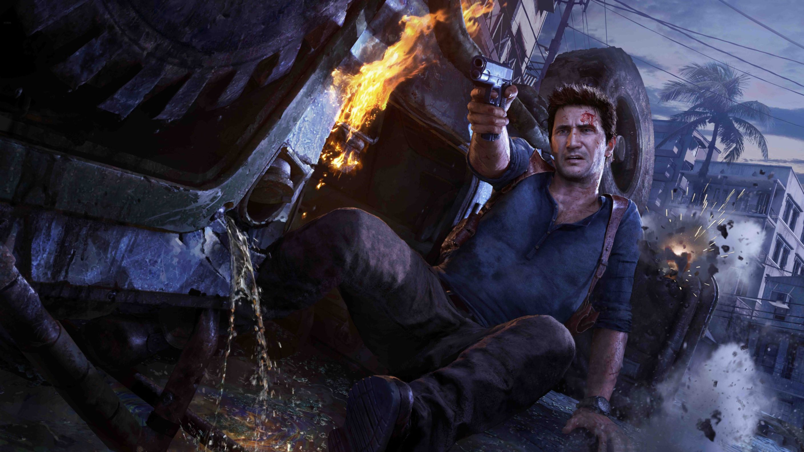 Download free HD Uncharted 4 A Thiefs End HD Wallpaper, image