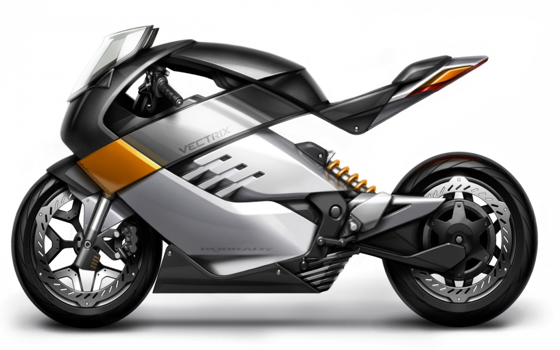Vectrix Concept Electric Motorcycle Wallpaper