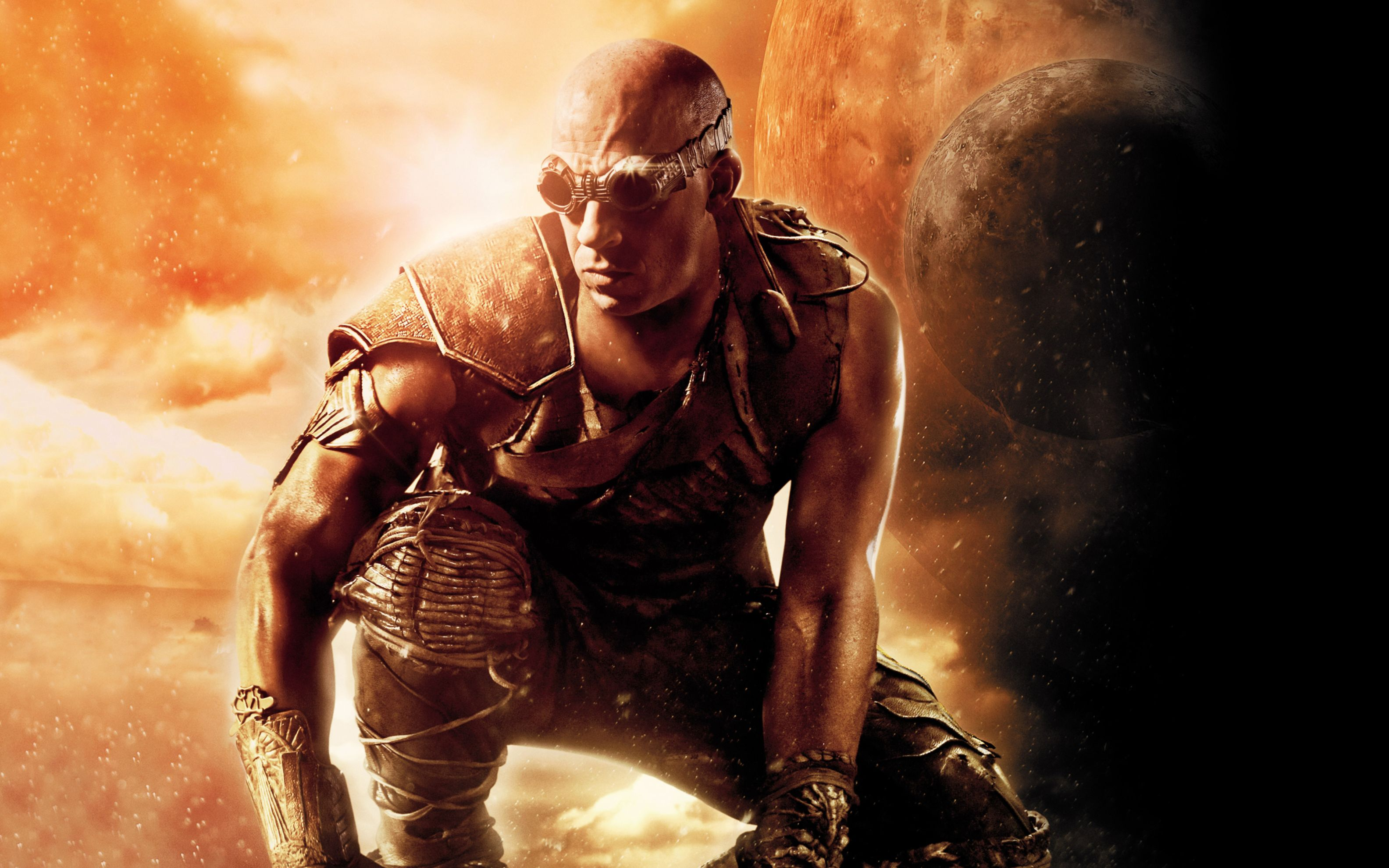 Download free HD Vin Diesel Riddick Movie Wide Wallpaper, image