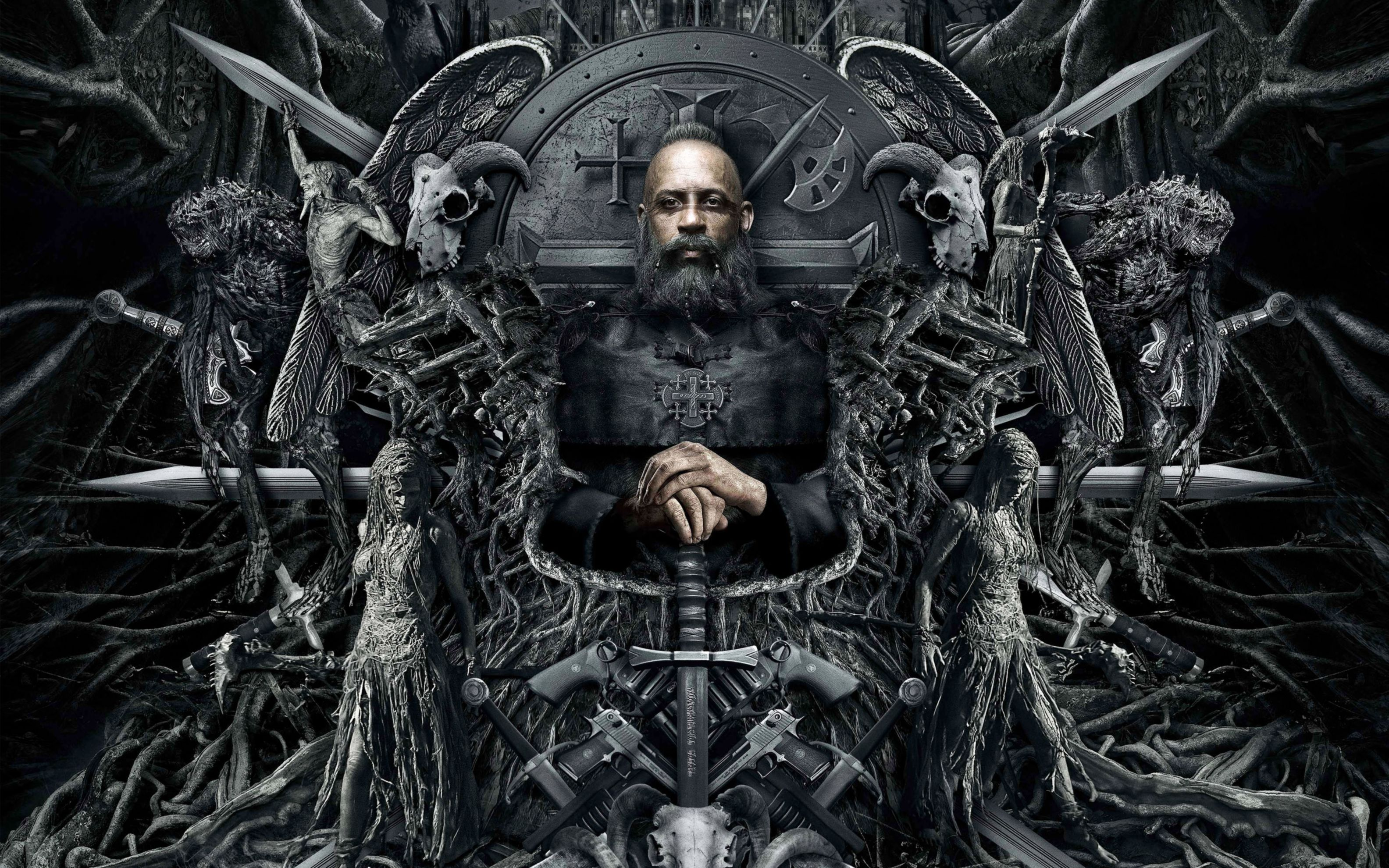 Download free HD Vin Diesel The Last Witch Hunter Wide Wallpaper, image