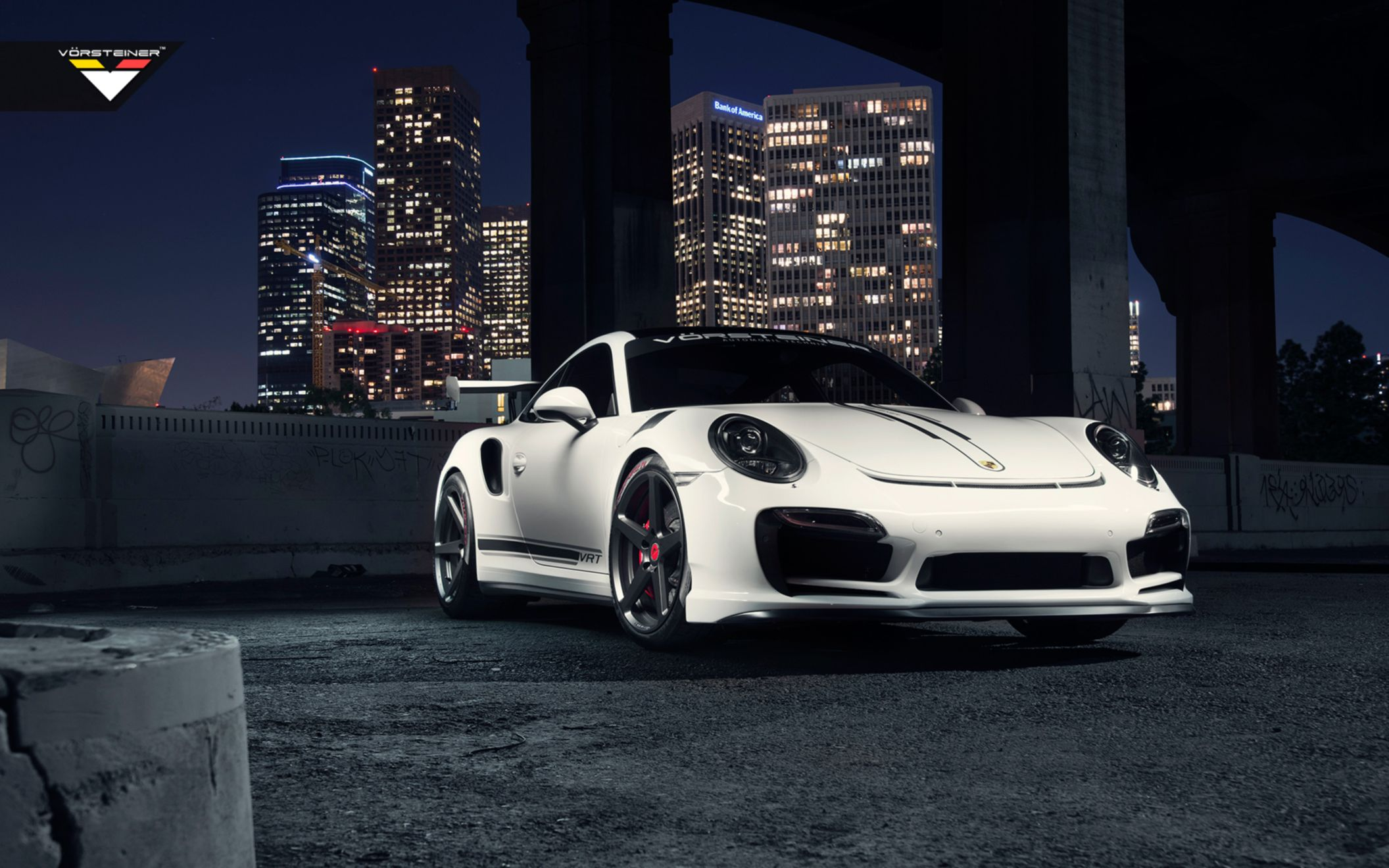 Download free HD Vorsteiner V RT Edition Porsche Turbo Wide Wallpaper, image