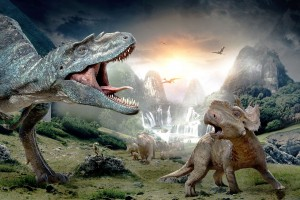 Walking With Dinosaurs 3D Wide Wallpaper