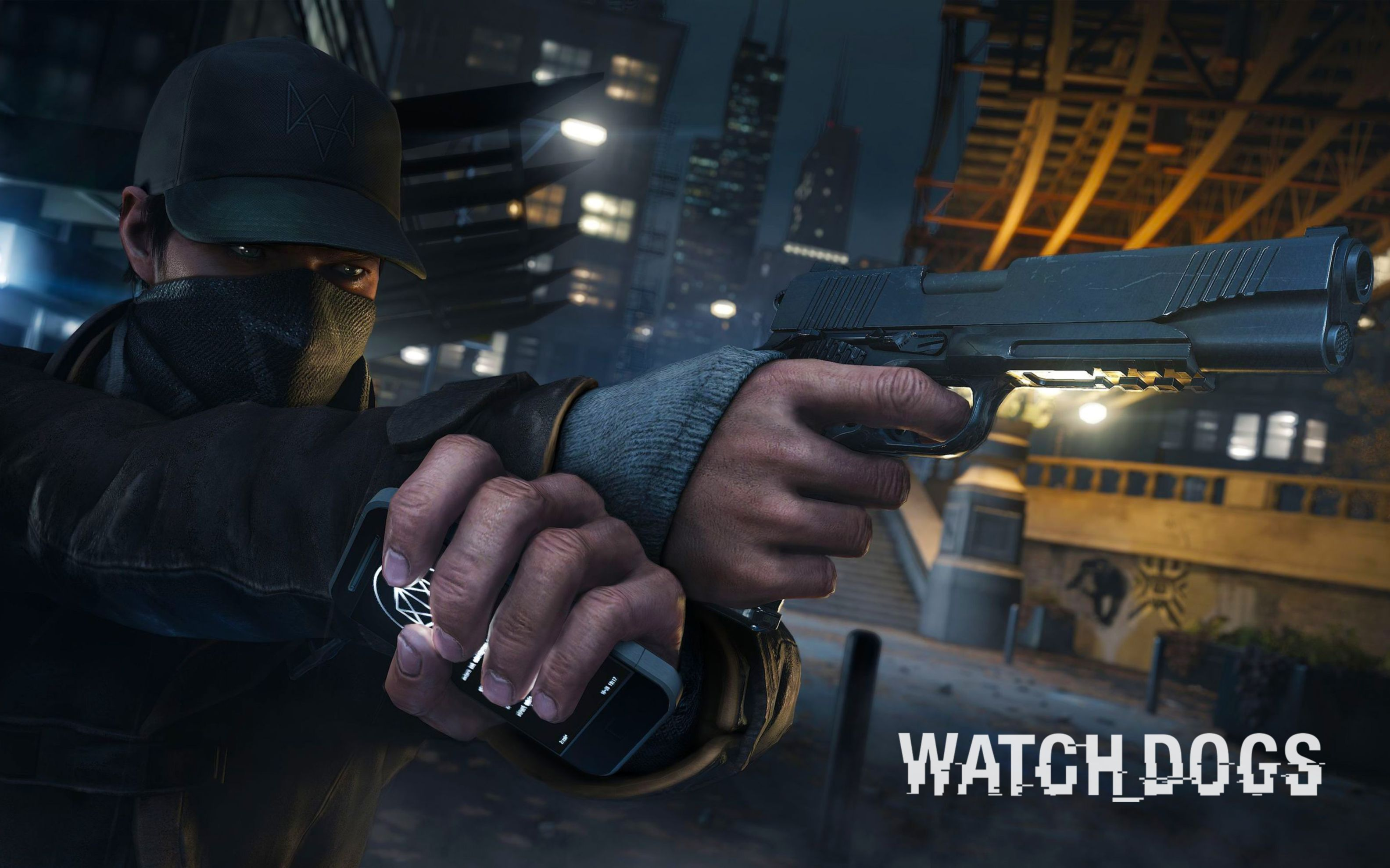 Download free HD Watch Dogs 2014 Game Wide Wallpaper, image