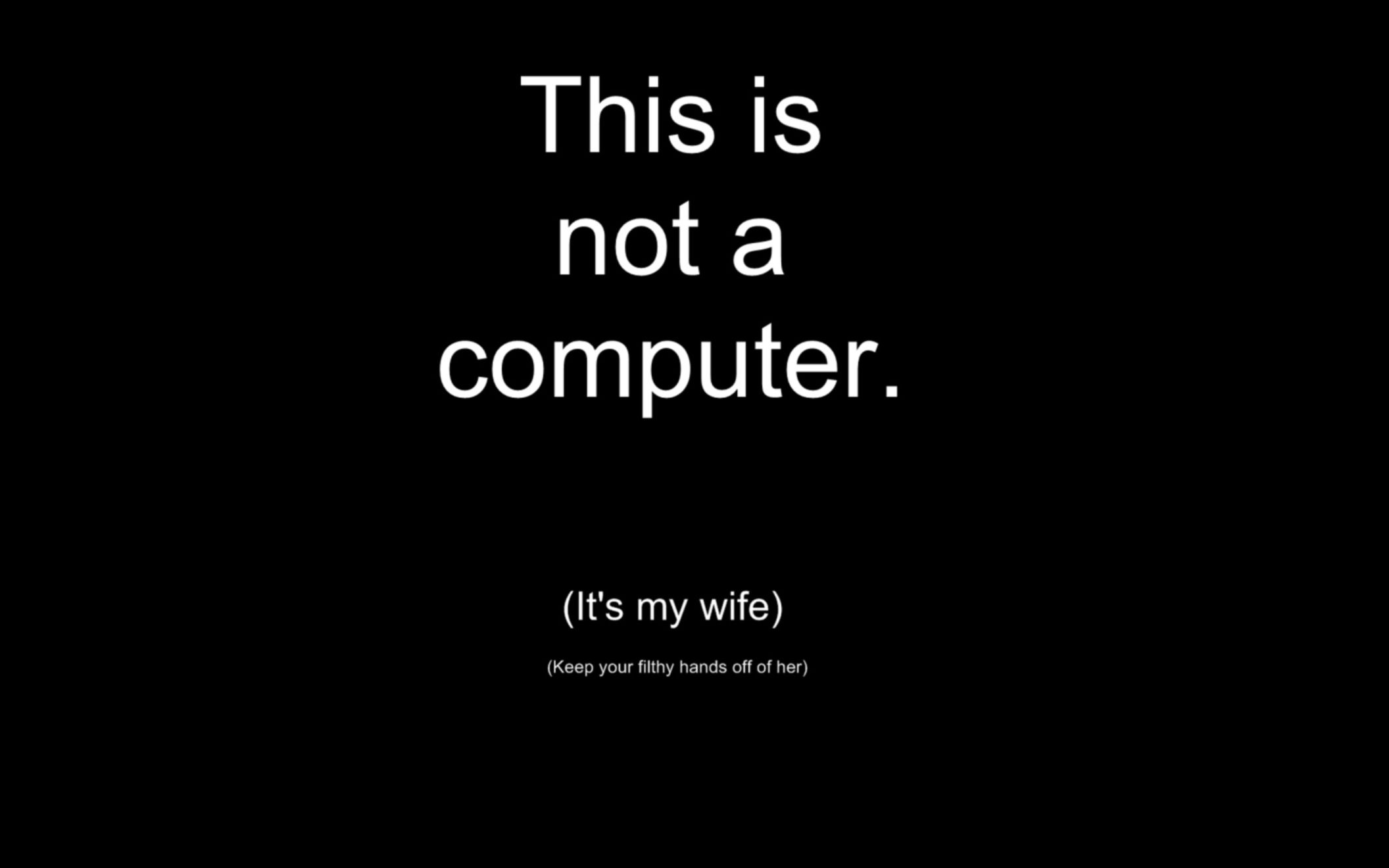 wife computer funny wallpaper desktop hd wallpaper download free
