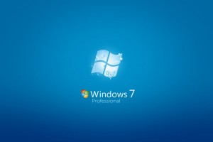 Windows 7 Professional Wide Wallpaper