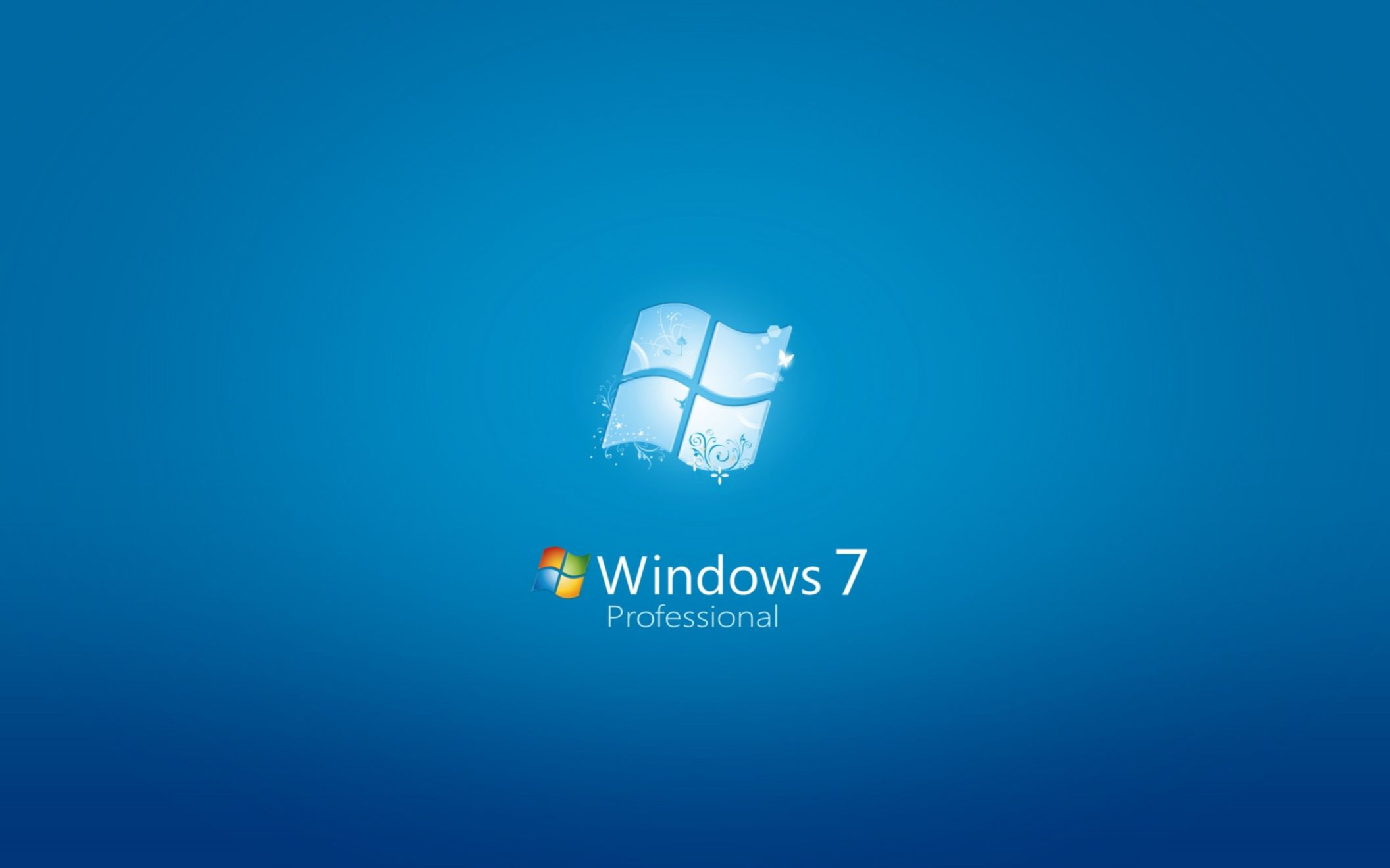 Download free HD Windows 7 Professional Wide Wallpaper, image