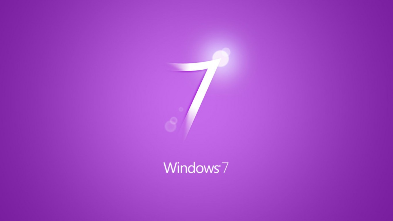 windows 7 purple wide wallpaper: desktop hd wallpaper - download
