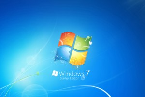 Windows 7 Starter Edition Wide Wallpaper