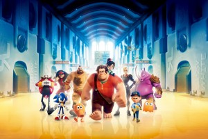 Wreck It Ralph 3D Movie Wide Wallpaper