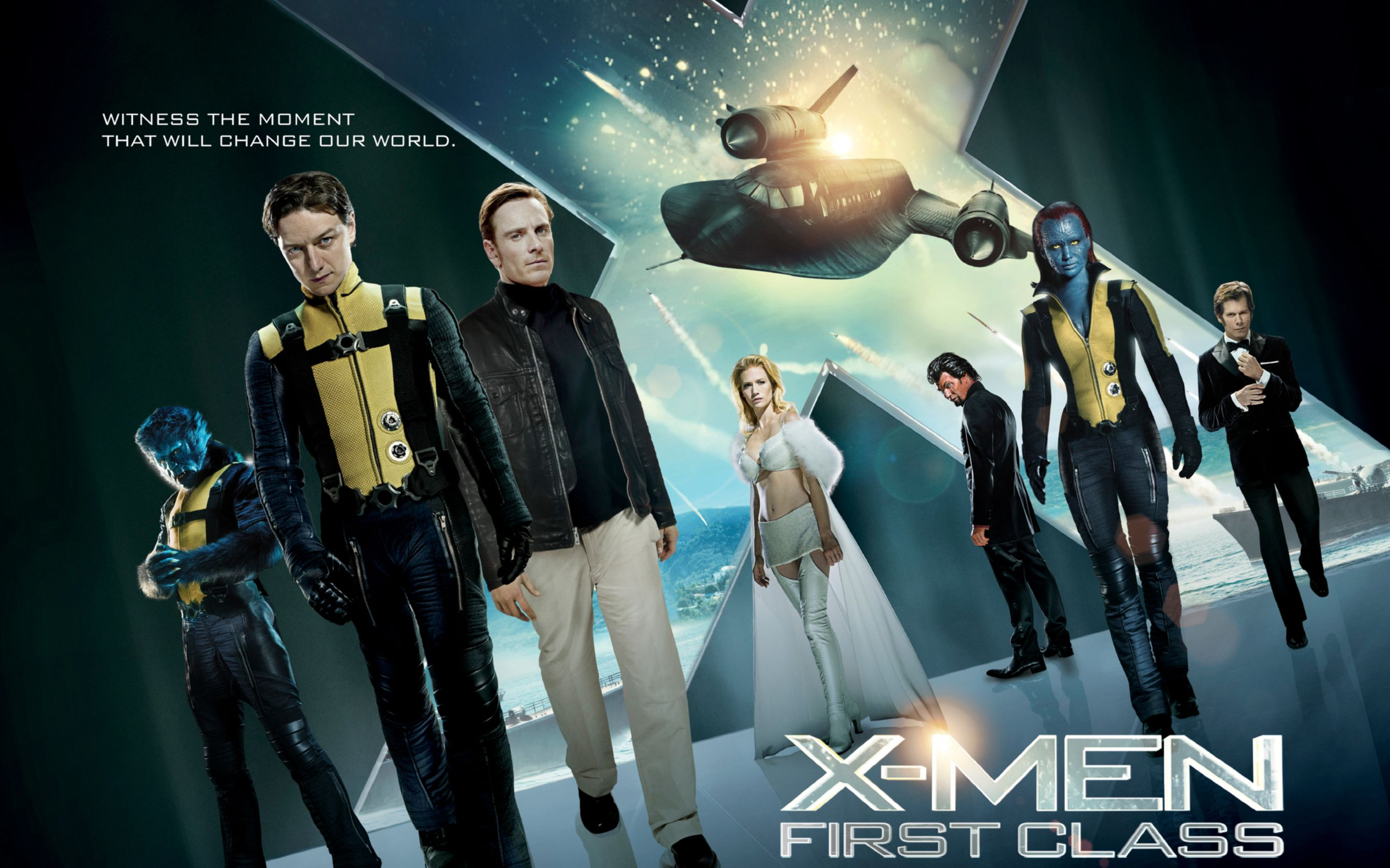 Download free HD X Men First Class 2011 Movie Wide Wallpaper, image