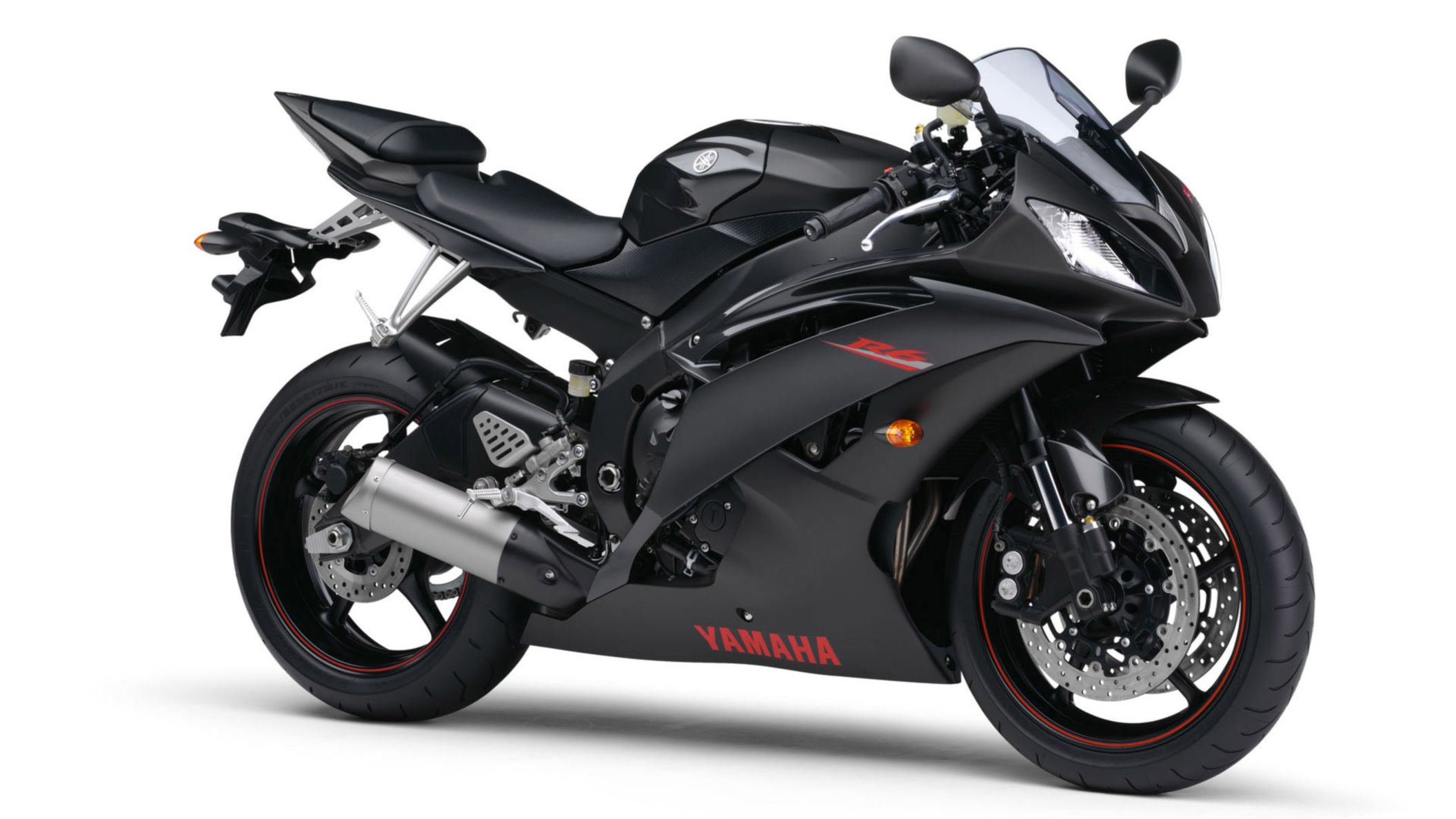 Download free HD Yamaha R6 Black HD Wallpaper, image