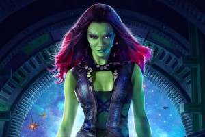 Download Zoe Saldana as Gamora Wide Wallpaper Free Wallpaper on dailyhdwallpaper.com